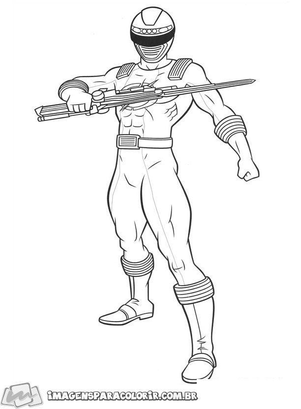 Power Rangers Ninja Storm 21 Desenhos Animados Para Colorir
