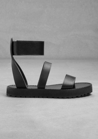 Awangardowe sandały marki & Other Stories. Rozmiar: 39 Stan: nowe  100% naturalna skóra