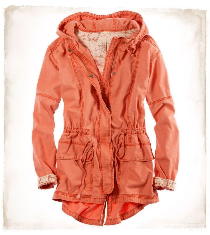 Autumn! Coral comfort with lace! Perfect for brisk days ( just not tooooo cold)