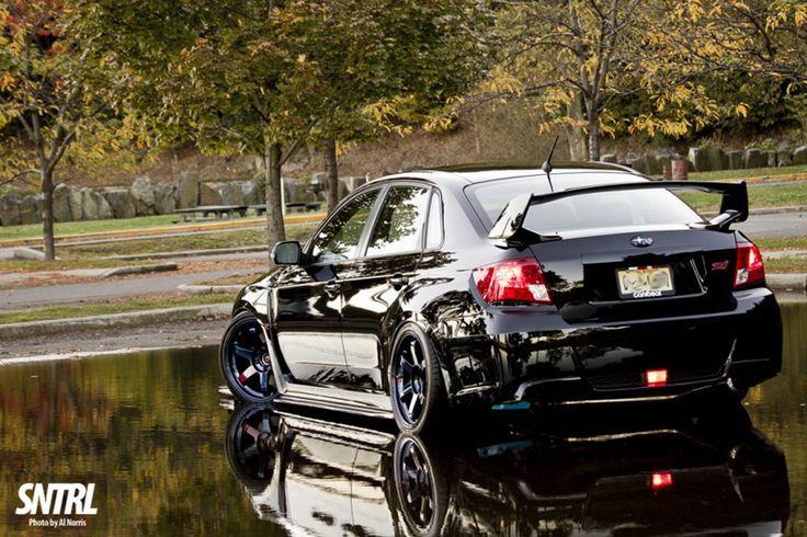 SNTRL  Subaru Impreza WRX STi Model: Color: Black  Mod List Blacktop Aero Type VR Carbon Fiber Front Lip Blacktop Aero Carbon Fiber Side Skirts Ebay CS1 Lip Hella Supertones LED Turn Signal (Color Changing) Volk TE37SLs – Mag