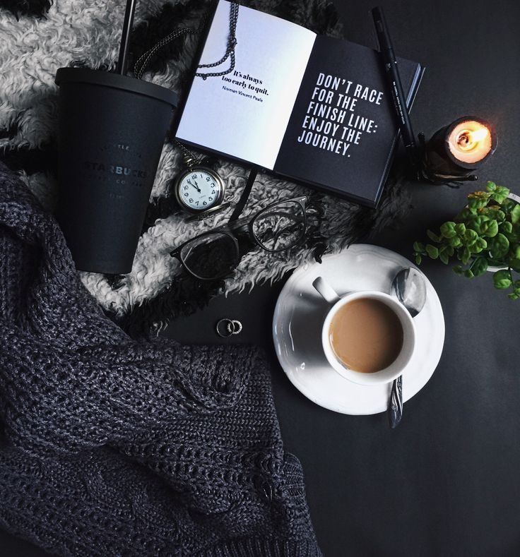 Ardito Coffee Coffee And Books Flat Lay Photography Black And White Aesthetic