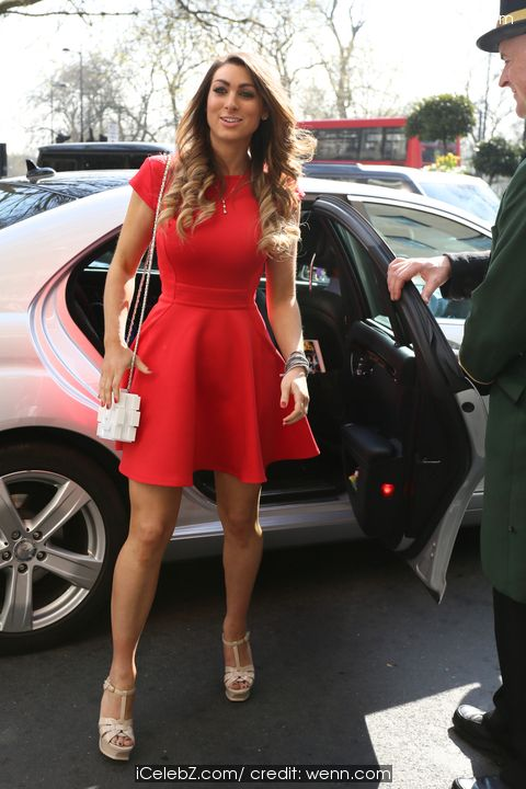 Luisa Zissman arrives at The Dorchester Hotel for The Shooting Star Chase - tea party http://www.icelebz.com/events/luisa_zissman_arrives_at_the_dorchester_hotel_for_the_shooting_star_chase_-_tea_party/