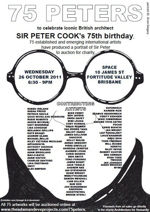 Sir Peter Cook on Behance