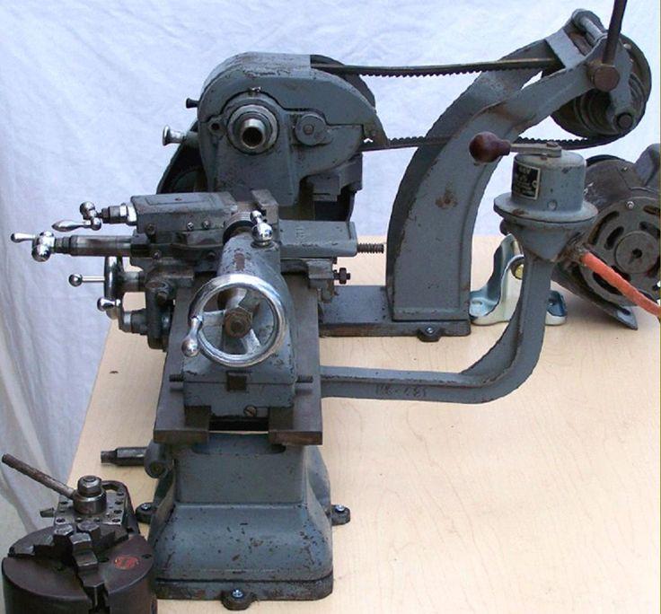 Atlas 6 Inch Lathe Antique Metalworking Tools