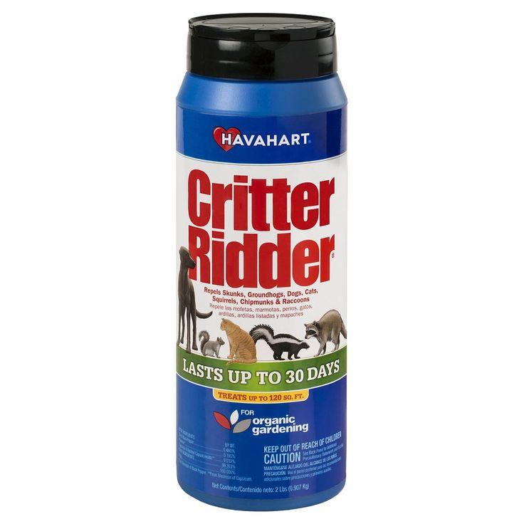 Havahart critter ridder 2 lb animal repellent granular