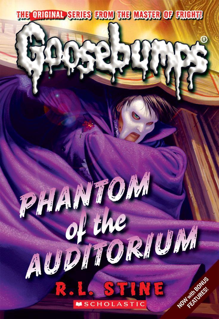 Classic Goosebumps Phantom of the Auditorium Goosebumps