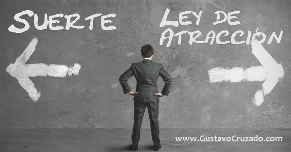 http://gustavocruzado.com/la-suerte-y-la-ley-de-atraccion/ Aprende cuál es el camino que puedes seguir para alcanzar tus metas. http://gustavocruzado.com/la-suerte-y-la-ley-de-atraccion/