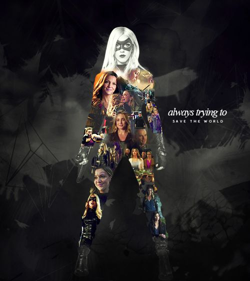 'Dinah Laurel Lance.  Always trying to  save the world.'  by cherrychapssstick  #arrow
