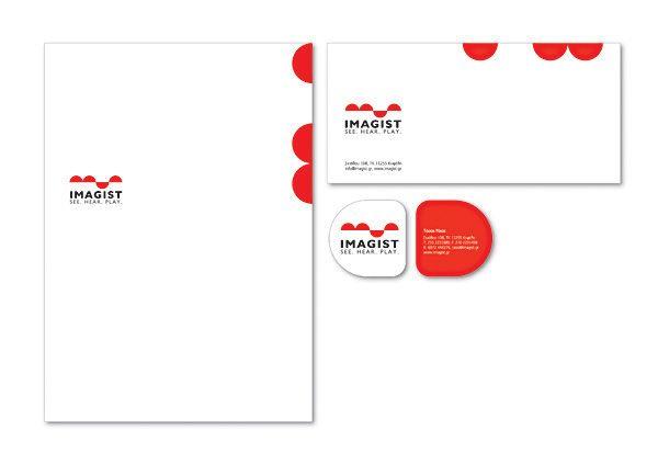 Imagist on Behance #logodesign #stationary #cards
