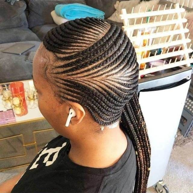 2020 African Braided Hairstyles For Beautiful Ladies Unique