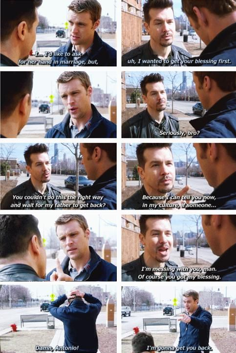 Casey getting Antonios blessing to marry Dawson. AHHHHHH! Im so glad I found this!! My favorite scene ever!!