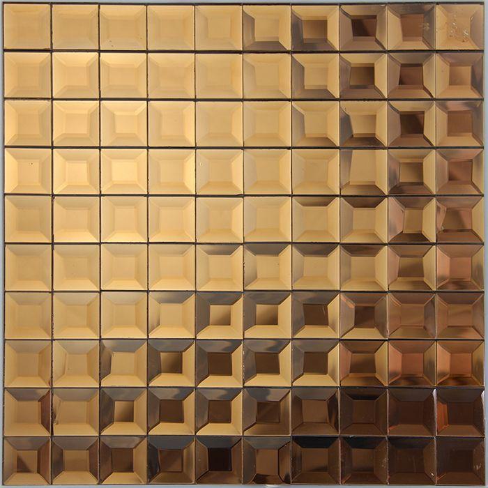 1000 images about mosaici a specchio on pinterest kitchen backsplash mirror glass and tvs - Specchio mosaico vetro ...