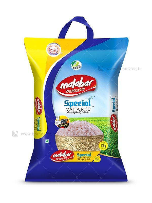 Download Malabar Special Matta Rice Bag Brandz Co In Rice Bags Food Packaging Design Rice Packaging