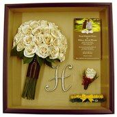 LOVE the idea of preserving the bouquet and boutonniere from our wedding.....rememdering our celebration of love!