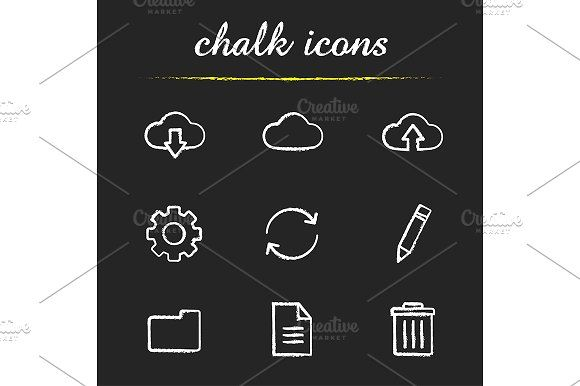 Cloud computing. 9 icons. Vector by Icons Factory on @creativemarket
