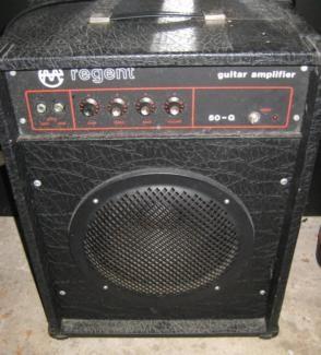 vermona regent 50 g gitarren verst rker ddr in saarbr cken dudweiler musikinstrumente. Black Bedroom Furniture Sets. Home Design Ideas