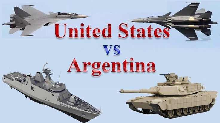 United States vs Argentina Military Power 2017