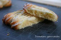 Biscuits citron et fromage frais (recette de Martha Stewart)