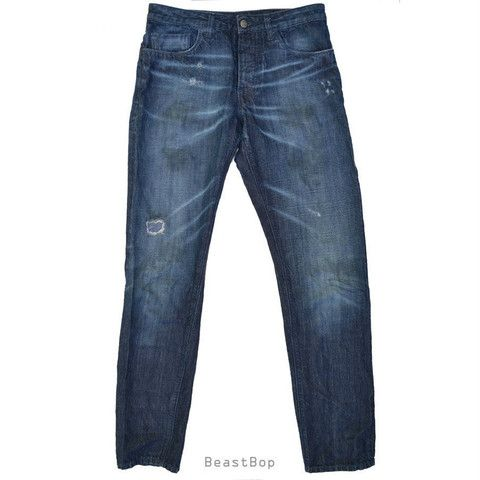 Beast Bop's latest Tasty Good™: Armani Ice Blue Jeans Size 29 only $79. http://goo.gl/eWMYeJ  #fashion Made in Italy