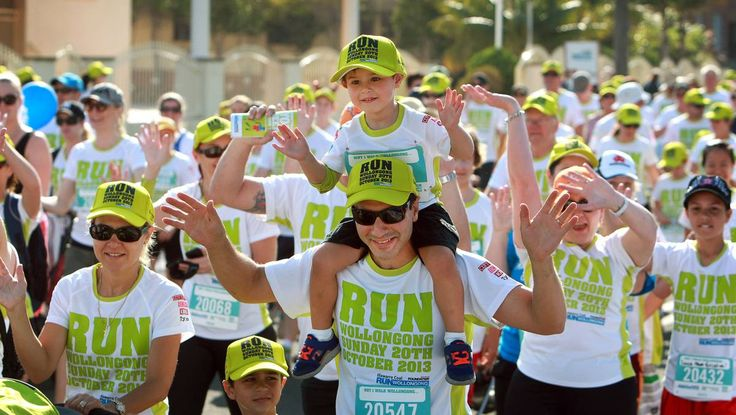 The inaugural Run Wollongong event held raised more than $100,000 for children's health services in the region.