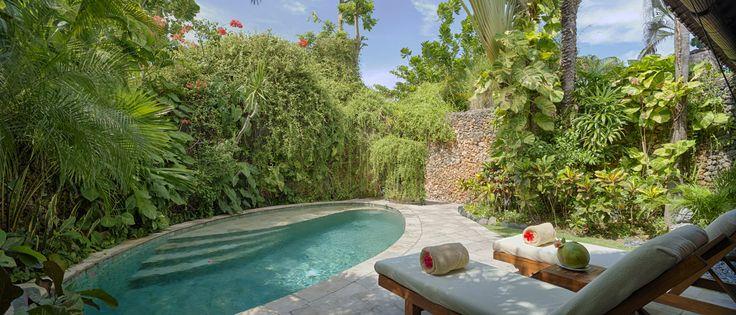 Villa 14 pool at Villa Kubu, Seminyak, Bali