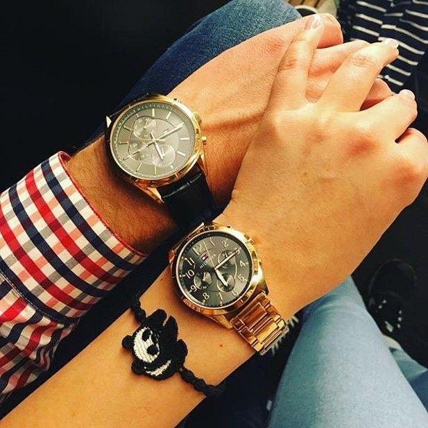Zakochana para… #TommyHilfigerWatches – dla niej i dla niego.  #date #couple #TommyHilfigerWatch #TommyHilfiger #watches #watch #zegarek #zegarki #fashion #glamour #stylish #butiki #swiss #butikiswiss