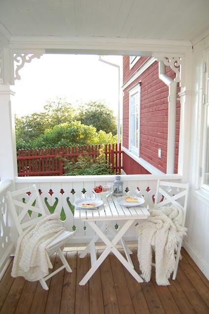 ♥ table pour mon balcon