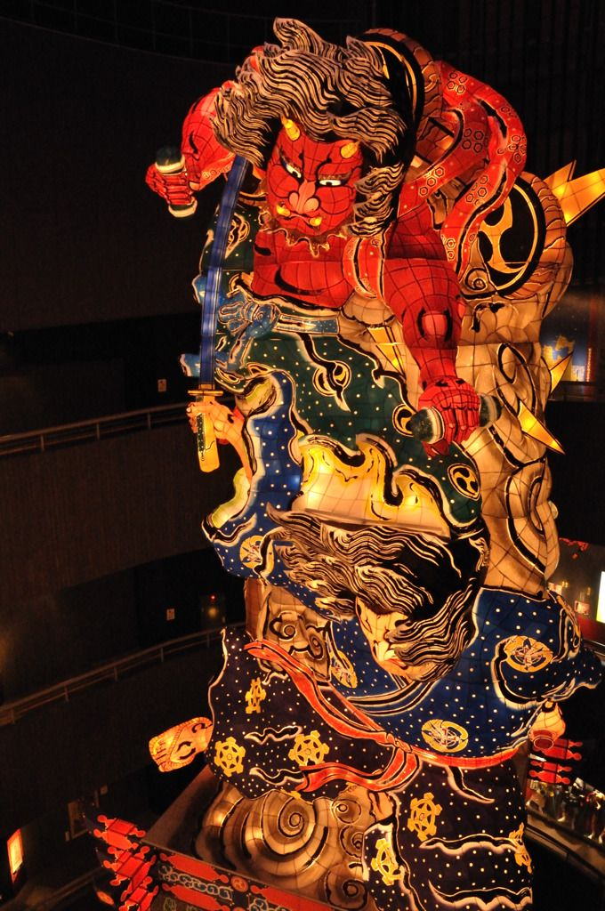 Neputa Festival, Goshogawara, Aomori, Japan