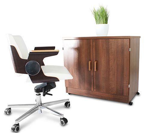 Perfect Grange Home Office Computer Hideaway. Office DeskHome OfficesComputers DesksWheelsCleaning