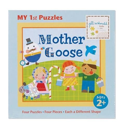 """My 1st Puzzles"" Mother Goose by Jill McDonald Kids"