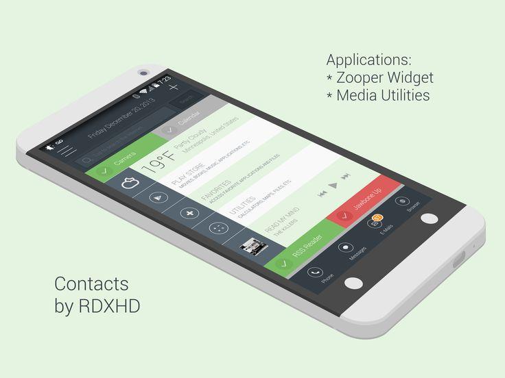Contacts Android Homescreen by jrventura - MyColorscreen