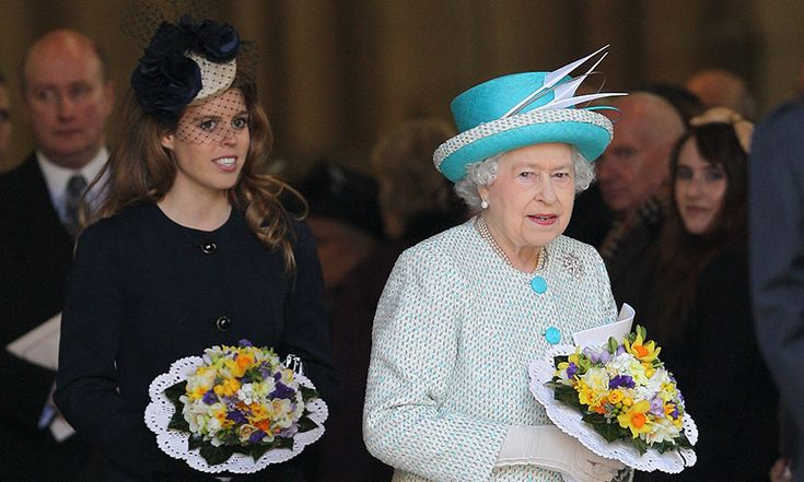 Princess Beatrice talks the Queen and mother Sarah Ferguson