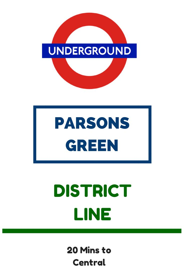 Parsons Green London Underground Station in London, Greater London