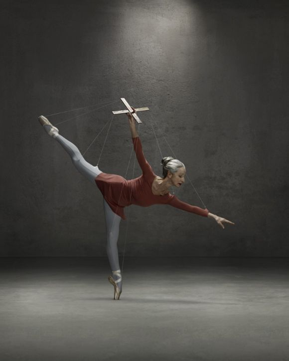 ballerina marionette - photo by erwin olaf