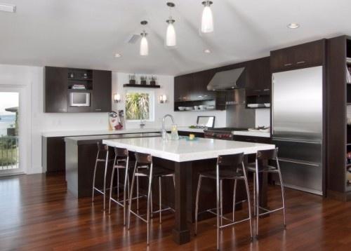 Modern kitchen: Simplicity modern kitchen