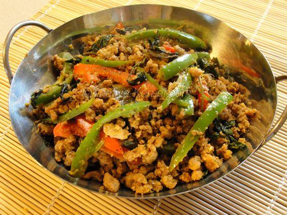 Cambodian Style Stir Fry Lemongrass
