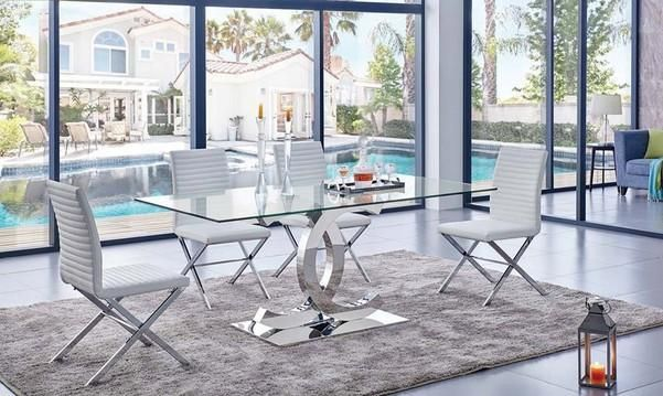 10 Unbelievable Ideas Of Modern Glass Dining Table Glass Dining