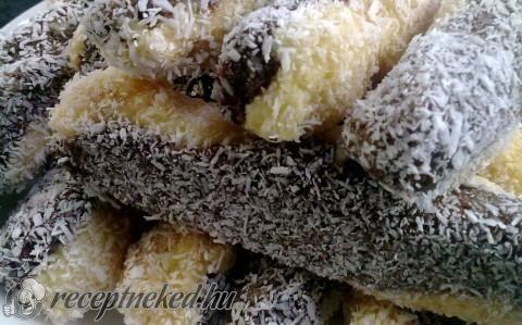 Kókuszos törzs sütés nélkül recept fotóval