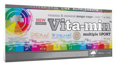 Olimp Vita-Min Multiple Sport 60 Caps, zengin vitamin ve mineral içeriğinin yanında bitkisel (yeşil çay özü vb.) içeriğe sahip supplement ürünüdür. Olimp vita-mineral multiple sport kapsül formda zengin multimineral ve multivitamin içeriğe sahip gıda takviyesidir.