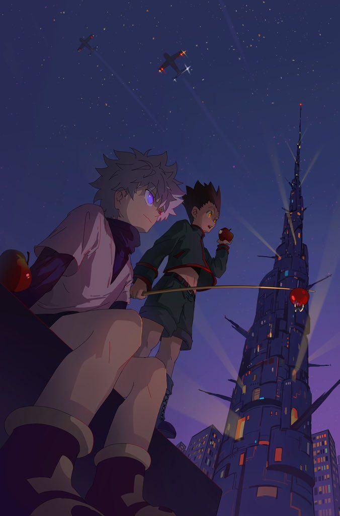 Killua By 17silence Wallpaper Christmas Wallpaper Hunter Anime Anime Wallpaper Hunter X Hunter
