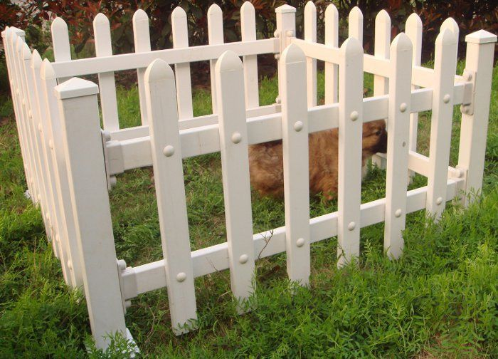 17 best images about pvc fence for garden on pinterest for Garden decking and fencing