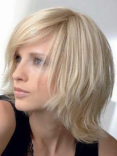 Модные женские стрижки для средней длины волос 2014 -