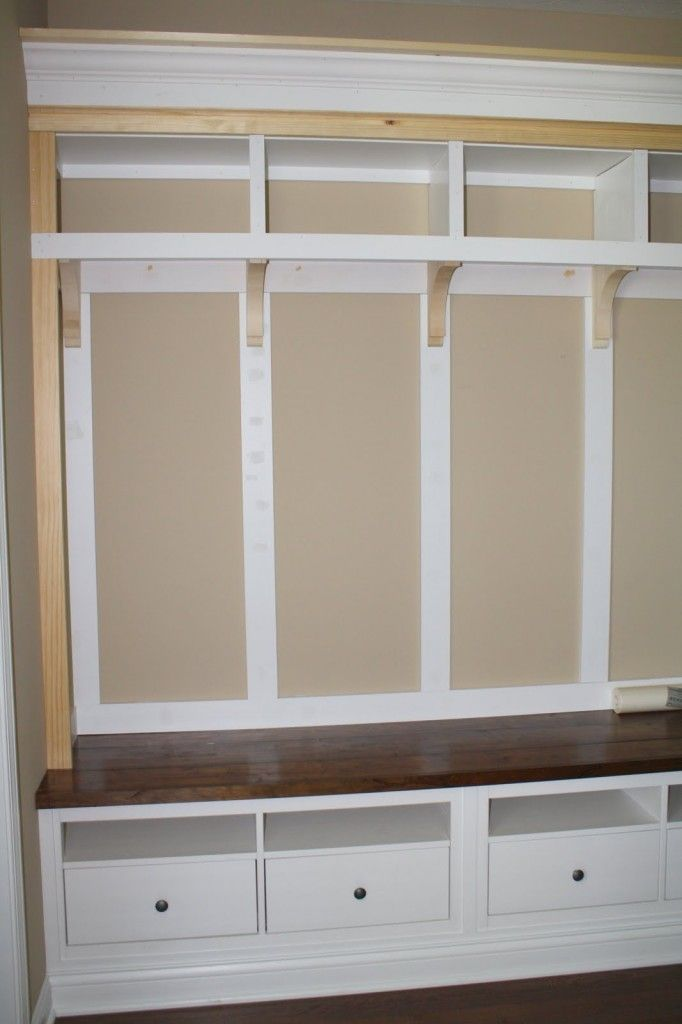 Bench plans, Benches and Storage on Pinterest