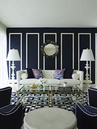 Gray And Navy Living Room   Google Search