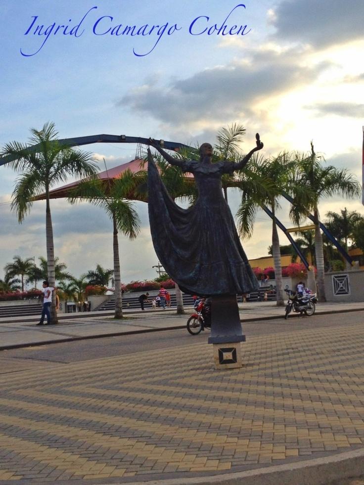 Plaza Majagual, Sincelejo Sucre, Colombia.