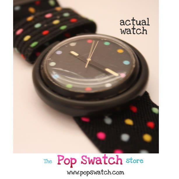 Pop Swatch - meine 1. Swatch ....  die musste man einfach sammeln