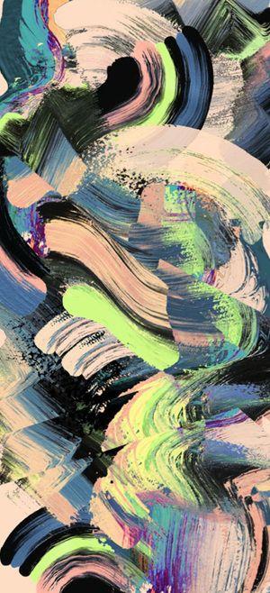 Abstract floral pattern - irina muñoz clares | fashion graphics + illustration
