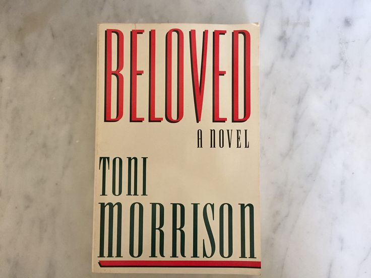 Beloved by Toni Morrison 1987 Paperback Edition Very Good Vintage Condition Historical Literature Collectible Author's Photo On Back by Samanthasunshineshop on Etsy
