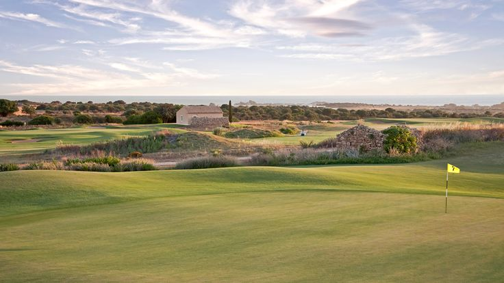 Hole 7 Donnafugata South Course - Links in Sicily