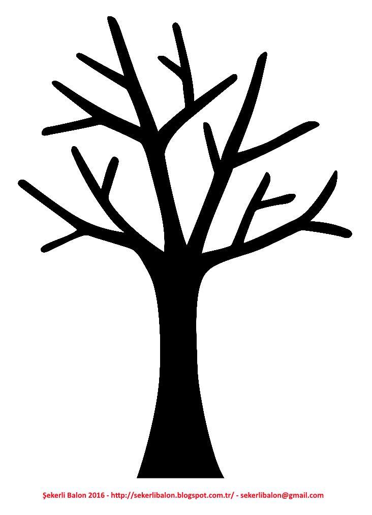 Ağaç Yaprak Ağaçlar Yapraklar Okulöncesi Ilkokul Kağıt Yaprak Ağaç